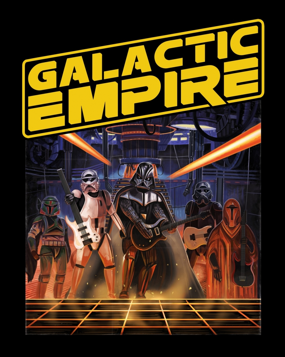 Galactic Empire covers the Star Wars main theme metal-style