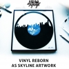 Music Merch: Skylinyl – Vinyl Reborn as City Skyline Artwork