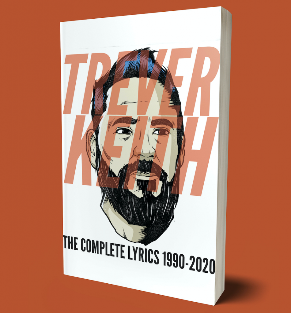'The Complete Lyrics 1990 - 2020' - Trever Keith's (from Face To Face) new book comes out Oct.19th