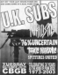 Uk Subs, Nihilistics, 76% Uncertain, Toxic Narcotic