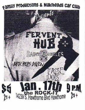 Fervent Hub, False Idols, Saint Angeles, Butchers Dozen