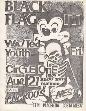 Circle One, Black Flag, Wasted Youth
