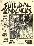 Suicidal Tendencies, Toy Dolls, Big Boys, Social Unrest @ Perkins Palace