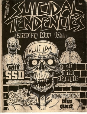 Suicidal Tendencies, SSD, Red Hot Chili Peppers, Minutemen @ Olympic Auditorium