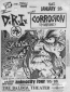 DRI, Corrosion of Conformity, Dr. Know, Beowulf