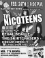 The Nicoteens, Regal Beagle, Skirtchasers, Sidecar Swing