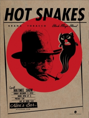 Hot Snakes @ Alex's Bar in Long Beach