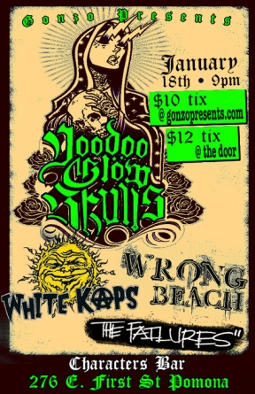 Voodoo Glow Skulls, White Kaps, Wrong Beach, The Failures
