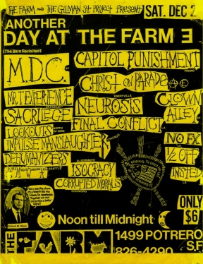MDC, Capitol Punishment @ The Farm