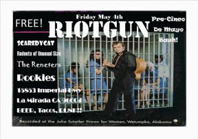 Pre-Cinco De May Bash w/ Riotgun, Rodents of Unusual Size, Scaredycat, Renester, Beer, Tacos & Punk