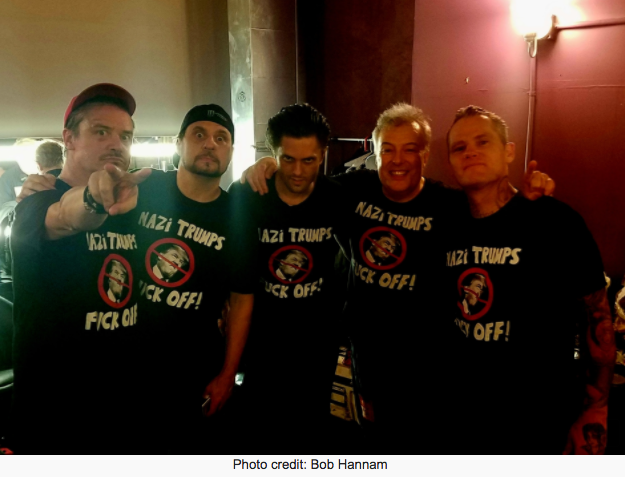 Jello Biafra Joins Dead Cross For Rousing Alternative Version of DK classic: 'NAZI TRUMPS F*** OFF'