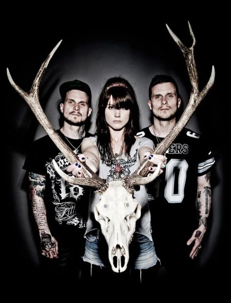 "Single Premiere of ""Black Lightning's Daughters"" by We Three And The Death Rattle"