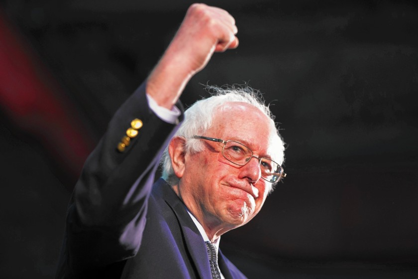Bernie vs. the Establishment is the Real Story in 2020